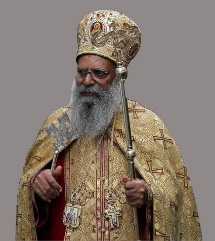 His Holiness Abune Mathias I -Sixth Patriarch and Catholicos of Ethiopia - Archbishop of Axum and Ichege of the See of Saint Taklehaimanot.