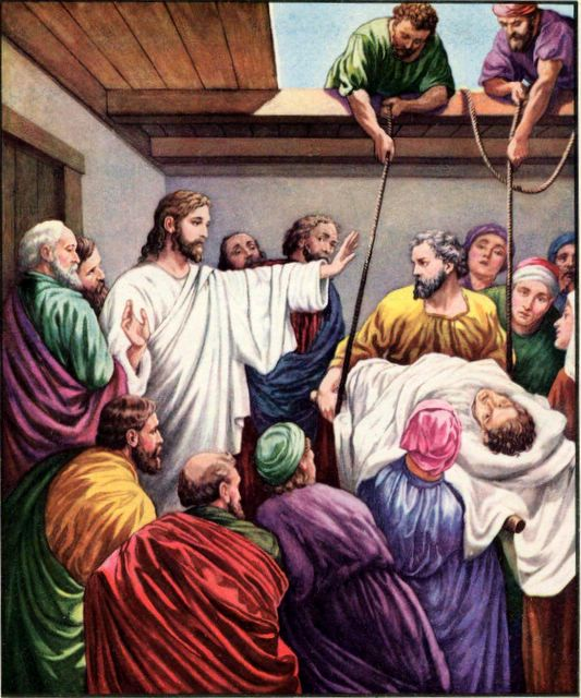 The Healing Of The Paralytic By Rekha Mathew St